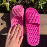 Terrelique Relaxation Slippers in Bubblegum